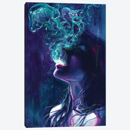 The Ghostmaker Canvas Print #TSH51} by Tanya Shatseva Art Print