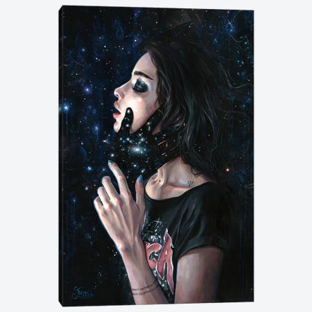Gravity Trance Canvas Print #TSH57} by Tanya Shatseva Canvas Art