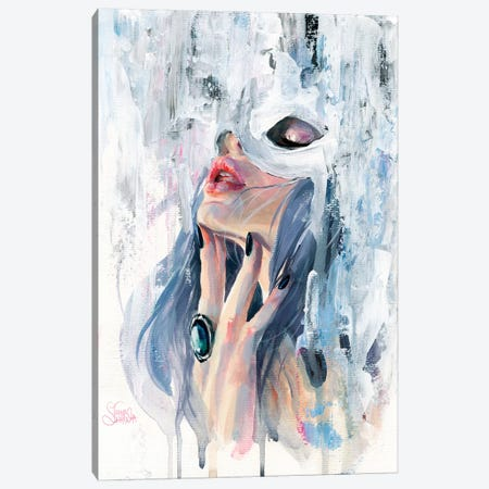 Moira Canvas Print #TSH58} by Eva Gamayun Art Print