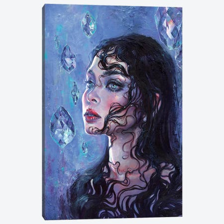 Phantom Rain Canvas Print #TSH59} by Tanya Shatseva Canvas Print