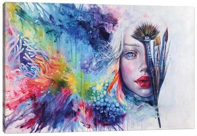 Coralized Canvas Art Print
