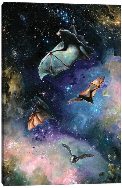 Scream Of A Great Bat Canvas Art Print