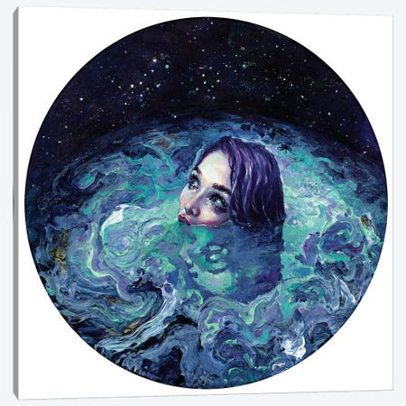 Whirlwind Calm Canvas Print #TSH61} by Tanya Shatseva Canvas Artwork