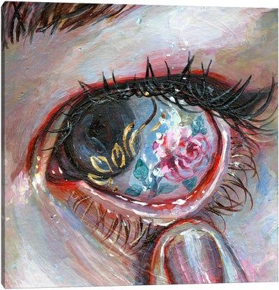 Beauty In The Eye Canvas Art Print