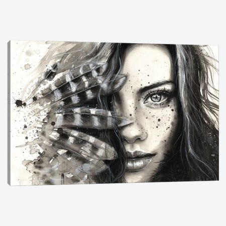 Freckly Canvas Print #TSH70} by Tanya Shatseva Canvas Print