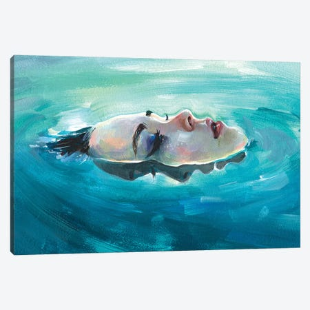 Immersion Canvas Print #TSH72} by Tanya Shatseva Art Print