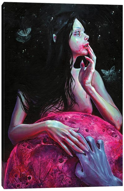 Lunacy Canvas Art Print