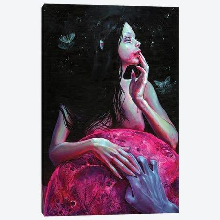 Lunacy Canvas Print #TSH73} by Tanya Shatseva Art Print