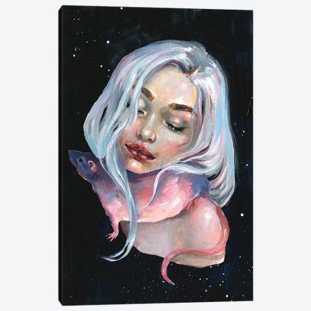 Lunar Tail Canvas Print #TSH74} by Tanya Shatseva Canvas Art