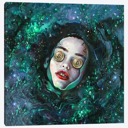 Crypto Styx Canvas Print #TSH77} by Eva Gamayun Canvas Art