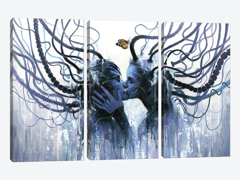 Equilibrium by Eva Gamayun 3-piece Canvas Art Print