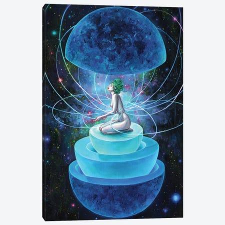 Neutron Seppuku Canvas Print #TSH80} by Eva Gamayun Canvas Wall Art