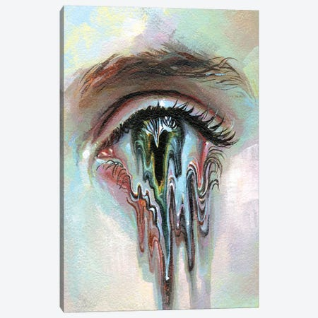 MindMelter Canvas Print #TSH84} by Tanya Shatseva Canvas Print