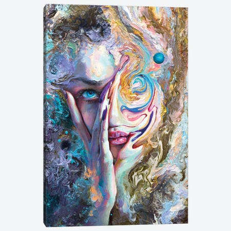 Swirling Sensation Canvas Print #TSH86} by Tanya Shatseva Canvas Art Print