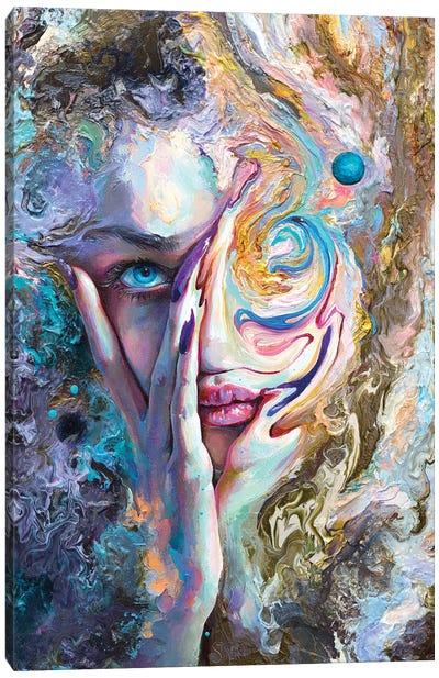 Swirling Sensation Canvas Art Print