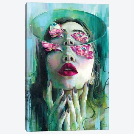 Refraction Of The Spotless Mind Canvas Print #TSH89} by Tanya Shatseva Canvas Art