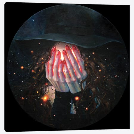 Enlightenment Fever Canvas Print #TSH91} by Tanya Shatseva Canvas Art Print