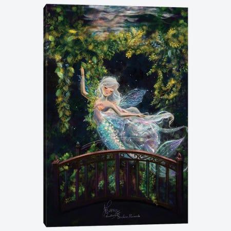 Ste-Anne Mermaid Merfairy Canvas Print #TSI35} by Anastasia Tsai Canvas Print