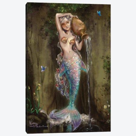 Ste-Anne Mermaid La Source Canvas Print #TSI44} by Anastasia Tsai Canvas Artwork