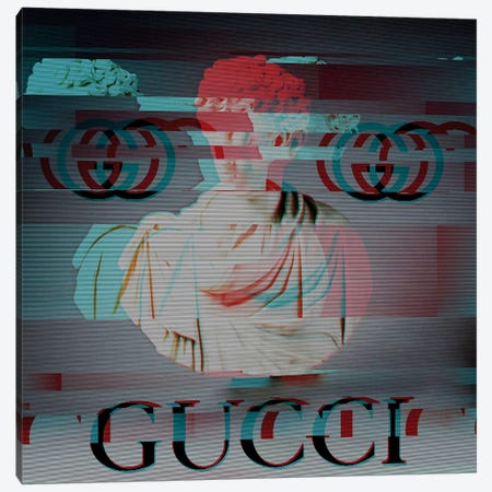 History Sponsored by Gucci Canvas Print #TSM100} by Taylor Smith Canvas Wall Art