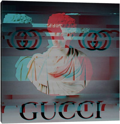 History Sponsored by Gucci Canvas Art Print