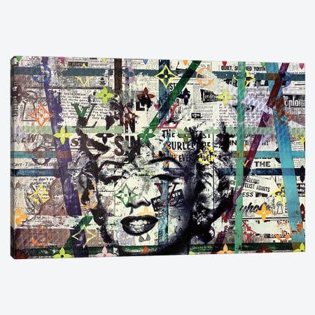 Marilyn Monroe Disaster I Canvas Print #TSM107} by Taylor Smith Canvas Print