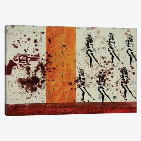 Six Gun Version I Canvas Print #TSM117} by Taylor Smith Canvas Art