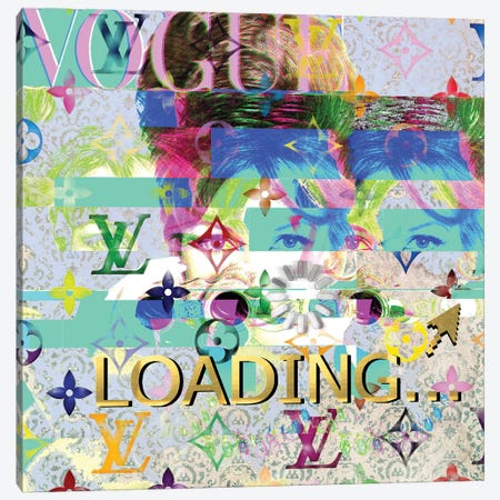 Vogue Magazine Double Disaster Canvas Print #TSM122} by Taylor Smith Canvas Art