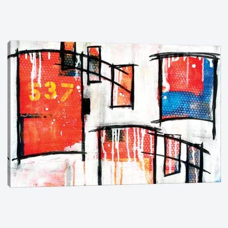 537 Ocean Boulevard 3-Piece Canvas #TSM1} by Taylor Smith Canvas Print