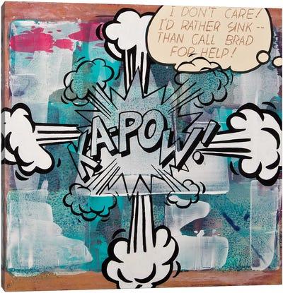 Kapow Canvas Art Print