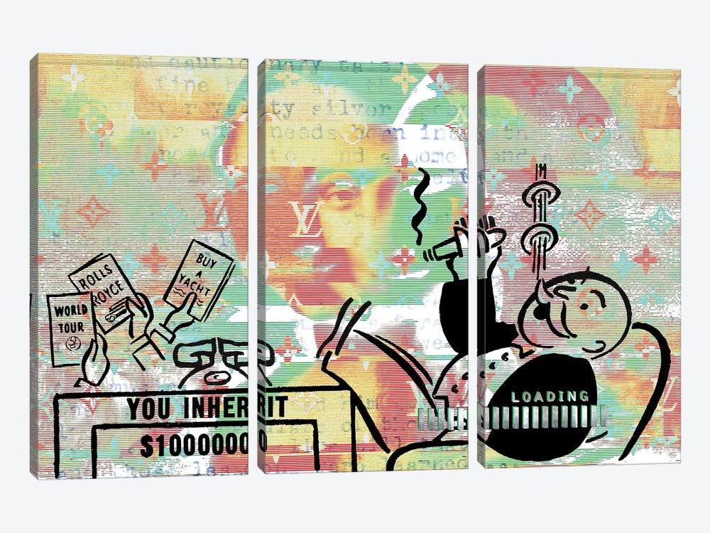 Million Dollar Smile by Taylor Smith 3-piece Canvas Artwork