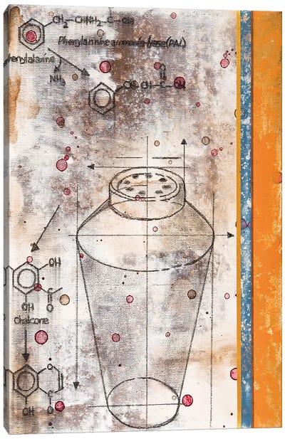 Shaker Chemical Reaction I Canvas Art Print