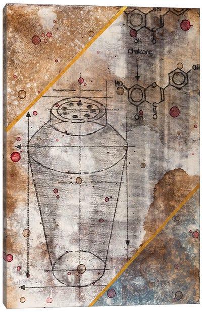 Shaker Chemical Reaction II Canvas Art Print