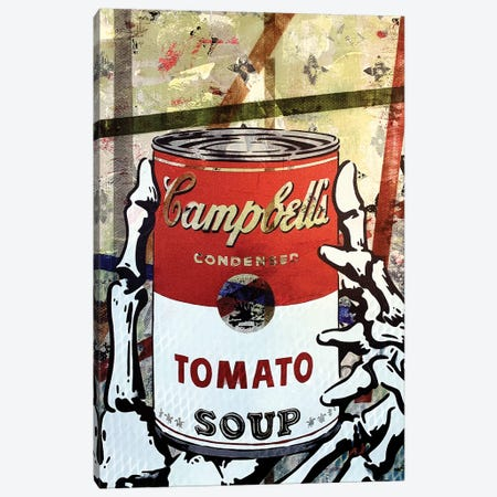 Campbells Tomato Soup Disaster I Canvas Print #TSM60} by Taylor Smith Art Print