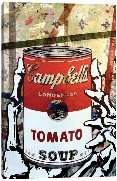 Campbells Tomato Soup Disaster I Canvas Art Print