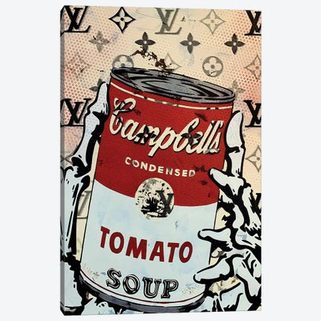 Campbells Tomato Soup Disaster II Canvas Print #TSM61} by Taylor Smith Art Print