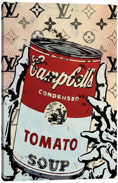 Campbells Tomato Soup Disaster II Canvas Art Print