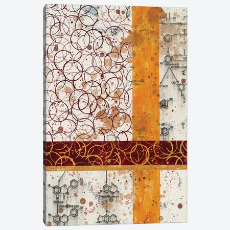 Chemical Abstract L Canvas Print #TSM69} by Taylor Smith Canvas Art Print