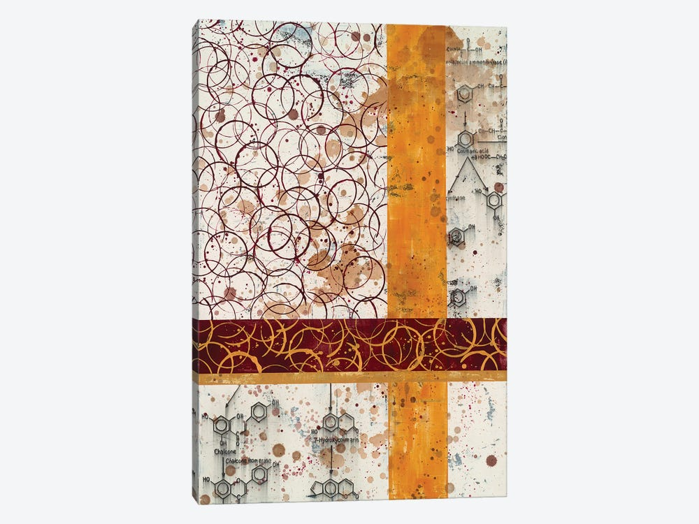 Chemical Abstract L by Taylor Smith 1-piece Canvas Wall Art