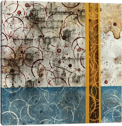 Chemical Abstract Miracle IV Canvas Art Print