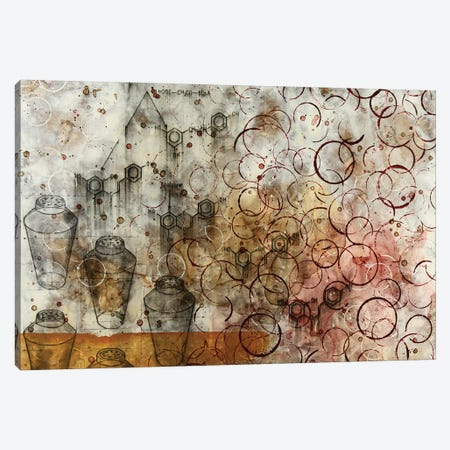 Chemical Abstract Miracle VII Canvas Print #TSM73} by Taylor Smith Canvas Art