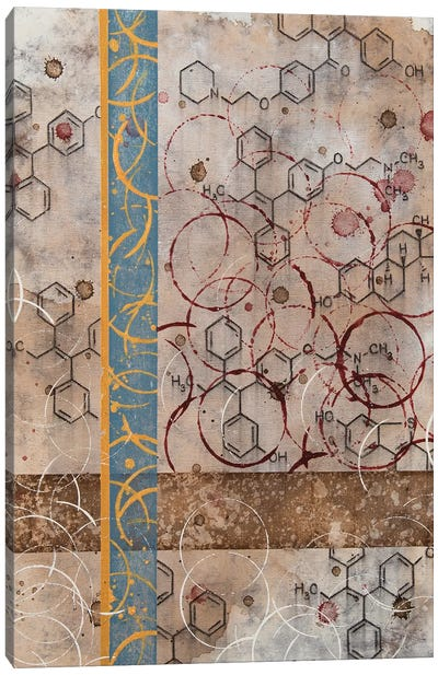 Chemical Abstract Miracle XI Canvas Art Print