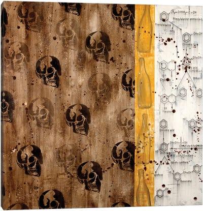 Chemical Abstract XXXIII Canvas Art Print