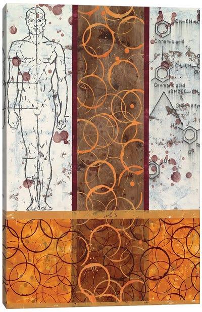Chemical Abstract XXXV Canvas Art Print