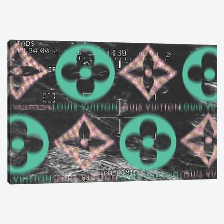 Drone Gun Sight by Louis Vuitton Canvas Print #TSM84} by Taylor Smith Canvas Art