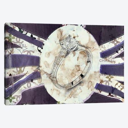 God Save The Diamond Ring Canvas Print #TSM94} by Taylor Smith Canvas Print