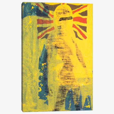 God Save the Queen Canvas Print #TSM95} by Taylor Smith Canvas Art Print