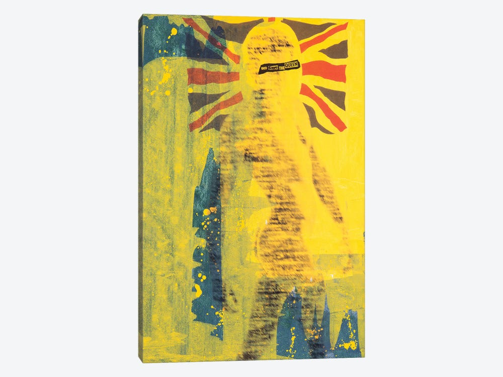 God Save the Queen by Taylor Smith 1-piece Canvas Print