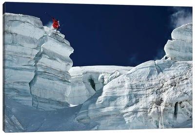 Cliff Jumping Canvas Art Print