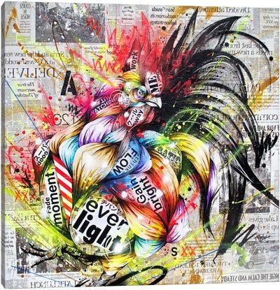 Akebono Canvas Art Print
